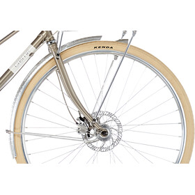 Creme Caferacer Solo Disc Damer, flat cafe